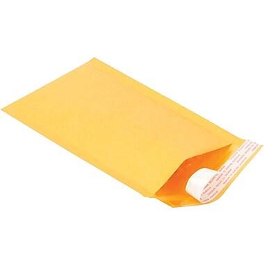 Staples #00 Bubble Mailer, Gold Kraft, 5