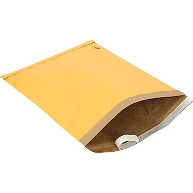 Staples #7 Padded Mailer, Gold Kraft, 14-1/8