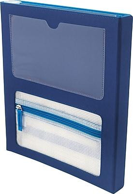 Designed By Students Super Folder Blue/Light Blue