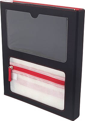 Designed By Students Super Folder Black/Red