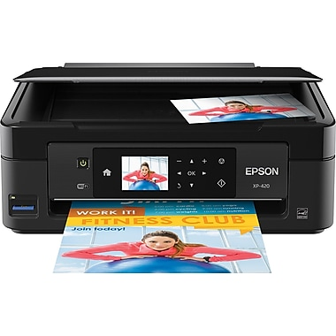 Epson Expression Home XP-420 Color Inkjet Small-in-One Printer, New