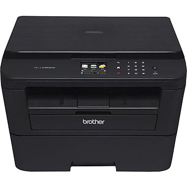 Brother® HLL2380DW Black and White Mono Laser Printer