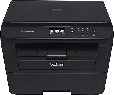 Brother HLL2380DW Wireless Single-Function Monochrome Laser Printer with Convenience Copying and Scanning (HLL2380DW)