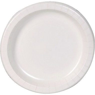 Dixie Basic™ 6' Paper Plate White, 100 per pack