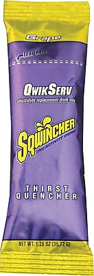 Sqwincher QwikServ Grape, 16.9oz. 8/Pack