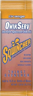 Sqwincher QwikServ Orange, 16.9oz. 8/Pack