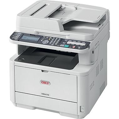 OKI® MB472W OKI®62444801 Black and White Laser All-in-One Printer