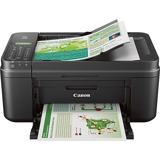 34b44a476 Canon PIXMA MX492 Color Inkjet Wireless All-in-One Printer Black (MX492).  https   www.staples-3p.com s7 is