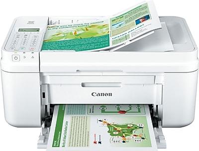 Canon® PIXMA® MX492 Wireless Multifunction Color Inkjet Printer White (MX492 WHITE)