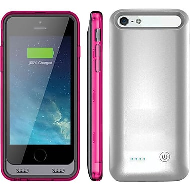 ARMORLITE 2400 mAh iPhone 6 Battery Case - Silver / Pink