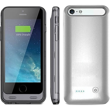 ARMORLITE 2400 mAh iPhone 6 Battery Case - Silver / Clear