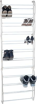 Lavish Home Metal Storage Shoe Rack
