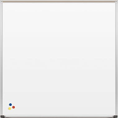 Best-Rite Deluxe Porcelain Steel Whiteboard 4x4