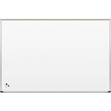 Best-Rite Deluxe, 6'W x 4'H, Porcelain Steel Whiteboard (202AG-25)