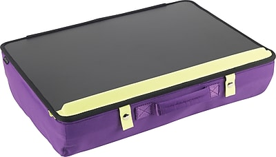 Designed By Students Portable Desk Purple/Black