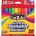 10-Pack Cra-Z-Art 10002 Classic Colors Washable Markers