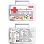 All-Purpose First Aid Kit Johnson & Johnson RED CROSS Brand, 125 Items/Kit (Model:116360)