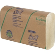 Scott Multi-Fold Towels; Absorbency Pockets, made with 20% Plant Fiber