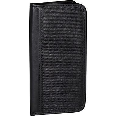 Bugatti - Porte-cartes professionnelles, noir, capacité de 80 cartes