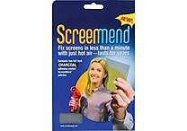 Shark Tank® Screenmend Mesh Door Patch, Charcoal