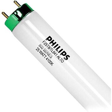 Philips 25W Cool White Fluorescent T8 Tube Light Bulb, 36