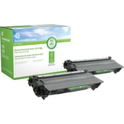 Clover Technologies Group Remanufactured Brother TN-750 Black Toner Cartridge High Yield Twin Pack (SEBTN7502RDS)