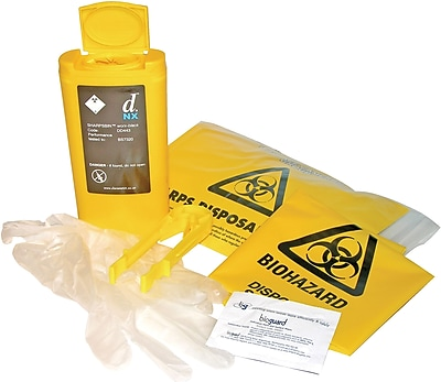 Astroplast Sharps Disposal Kit Refill, Mezzo
