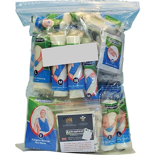 Astroplast First Aid Food Hygiene Refill Kits, Mezzo, 50 Person