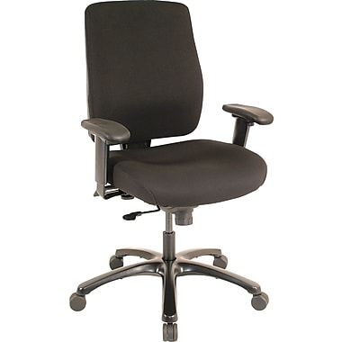 Tempur Pedic Tp4100 Fabric Computer And Desk Office Chair Adjule Arms Black