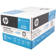 "HP Office Copy Paper, 8-1/2"" x 11"", 92 Bright, 20 LB, 10 Reams of 500 Sheets"