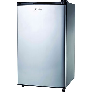 Royal Sovereign Compact Refrigerator, 4.0 Cu. Ft., Stainless Steel Door