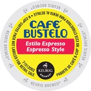Cafe Bustelo® Espresso, Regular Keurig® K-Cup® Pods, 24 Count