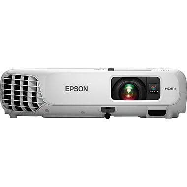 Epson Home Cinema 600 V11H801020 SVGA 3LCD Projector, White