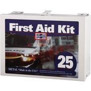 Pac-Kit Plastic First Aid Kit, 159 pieces; for 25 People
