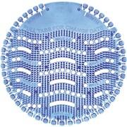 The Wave Urinal Deodorizer, Lasts 30 Days, Blue, Cotton Blossom, 10/Bx
