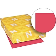 Exact Brights Paper, 8 1/2 x 11, Bright Magenta, 20 Lb., 500 Sheets/ream