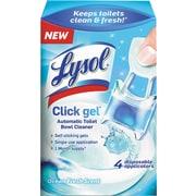 Lysol® Click Gel™ Toilet Bowl Cleaner, Ocean Fresh Scent, 4/Pack (1920092918)