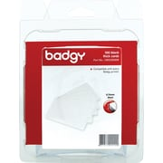 Badgy Blank Thick PCV Cards, White