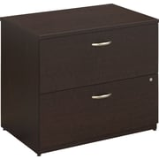Bush Business Westfield 36W 2 Drawer Lateral File, Mocha Cherry