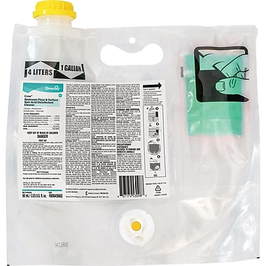 Crew® Smart Mix Pro Restroom Floor & Surface Non-Acid Disinfectant Cleaner, 2/CT