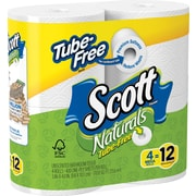 Scott® Naturals™ Bath Tissue, 4 Rolls/Pack