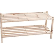 Lavish Home Shoe Storage Wood Rack