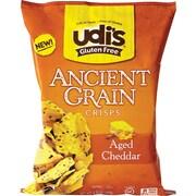 Gluten Free Ancient Grain Crisps, Aged Cheddar, 4.93 oz Bag, Each