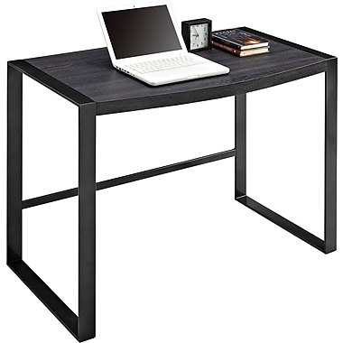 Sonoma Ridge Writing Desk, Rustic Laminate/Gun Metal