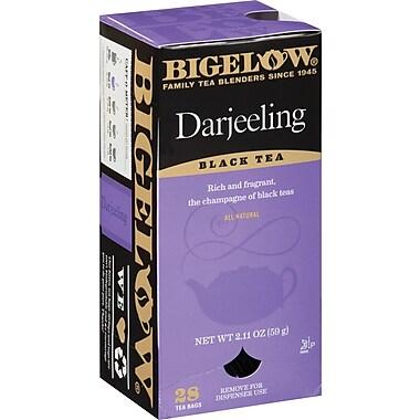 Bigelow® Darjeeling Tea, Regular, 28 Tea Bags/Box