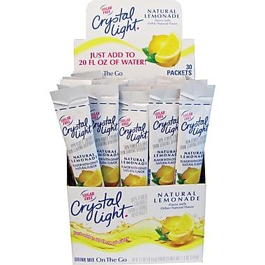 Crystal Light® On the Go, Lemonade, .17 oz., 30 Packets/Box