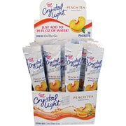 Crystal Light® On the Go, Peach Tea, .09 oz., 30 Packets/Box