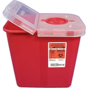 Kendall/Covidien Sharps Containers; 8 Quart (2 Gallon)