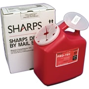 Sharps Compliance Disposal by Mail System; 2 Gallon