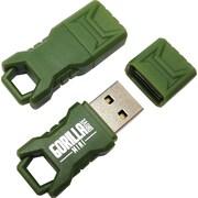 EP Memory Green Mini GorillaDrive Rugged USB 2.0 Flash Drive, 32GB